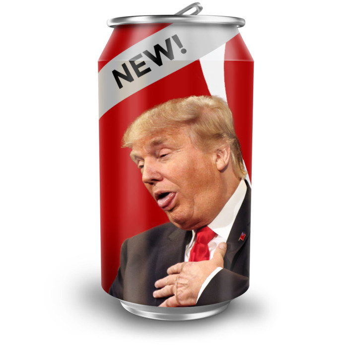 Punch Digital Strategies Trump Coke Can